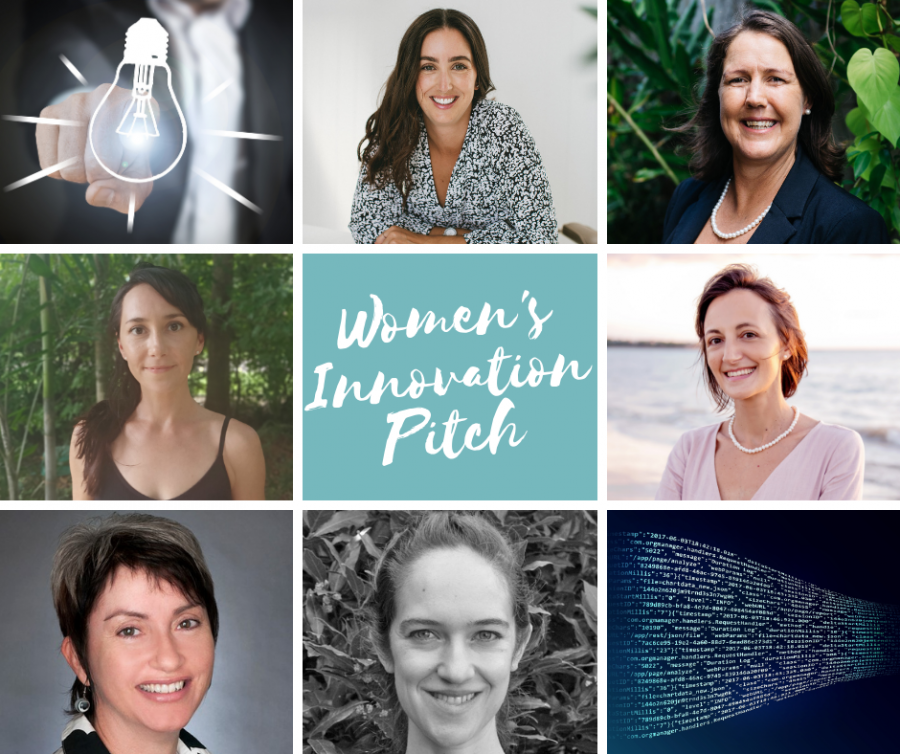 Portrait images of the Women's Innovation Pitch finalists 2021